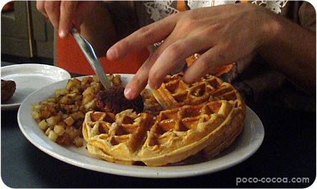 24 waffles